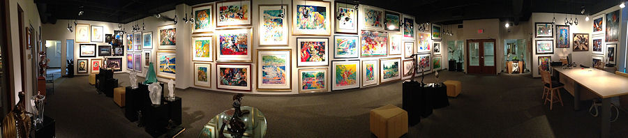 Doubletake Gallery - panoramic view